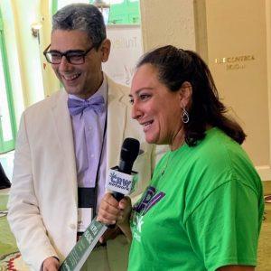 TV interview - Dr Rosado