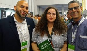 Book Signing at a Medical Cannabis Conference in Miami Florida