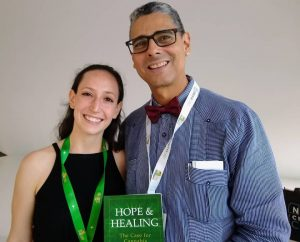 Book Signing at a Medical Cannabis Conference in Miami