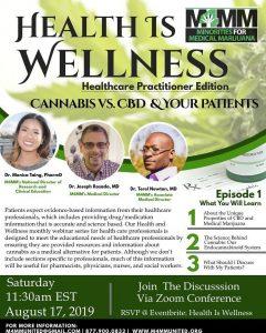 International Webinar on CBD & Medical Cannabis