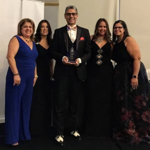 Awarded the Volusia Hispanic Chamber  2019 Florida Physician of the Year