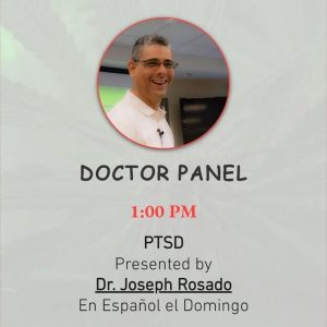 Hempfest Presenter - Dr Rosado