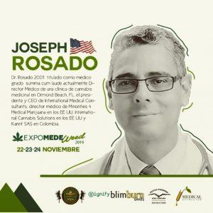 Expert Cannabis Speaker - Dr Joseph Rosado